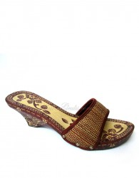 Kelom Geulis Batik Brown Natural