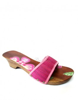Kelom Geulis Natural Bunga Pink Airbrush